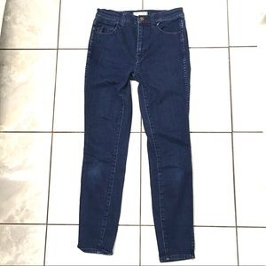 Madewell Woman's Blue High Rise Skinny Jeans